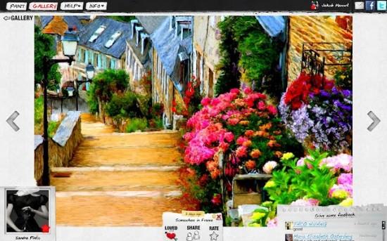 Logiciel gratuit pour donner des effets aux photos - Photo effet peinture ...