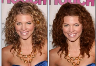 Changer la couleur des cheveux gimp