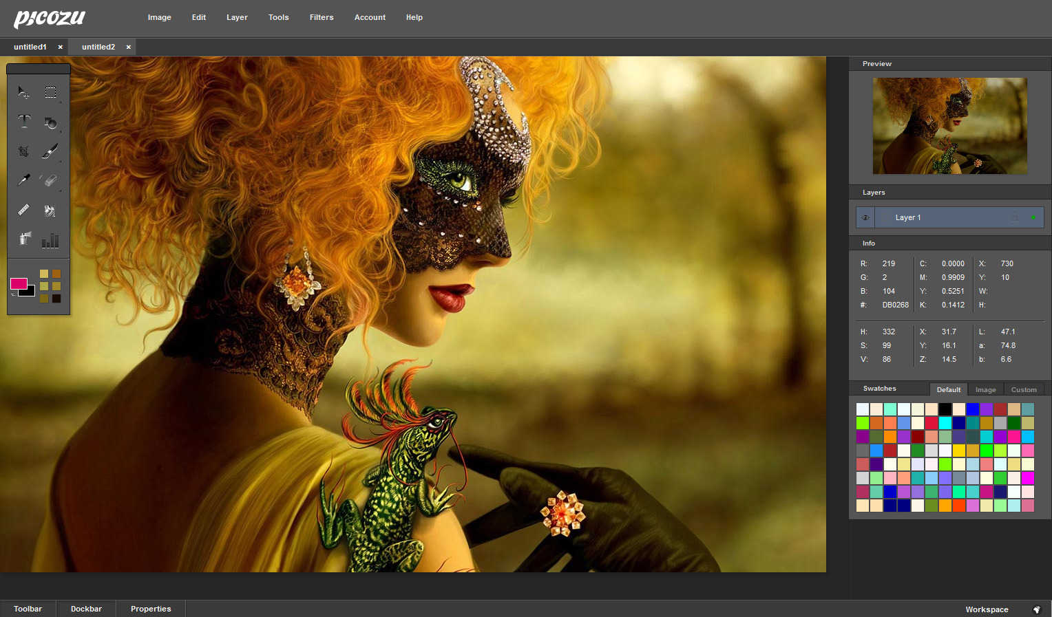 3 sites de retouche photo gratuit en ligne sans telechargement for Site de jardinage en ligne