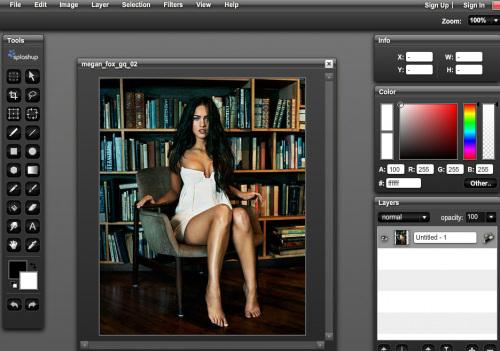 3 diteurs de photo en ligne gratuit retouche modification collage. Black Bedroom Furniture Sets. Home Design Ideas