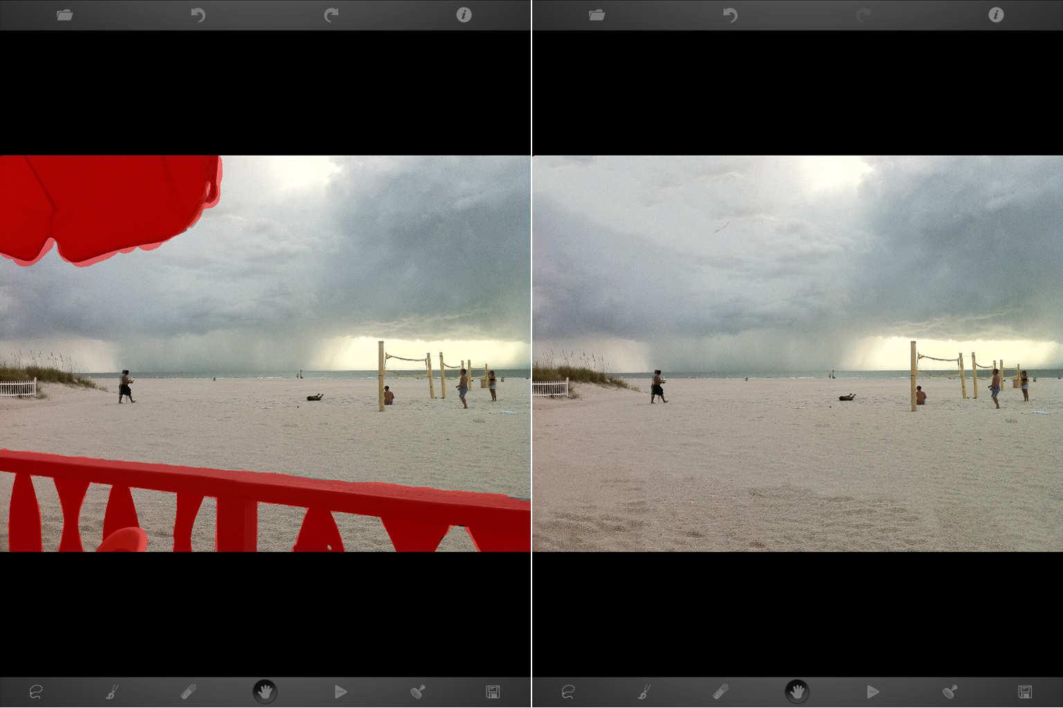comment supprimer des  u00e9l u00e9ments    objets sur une photo