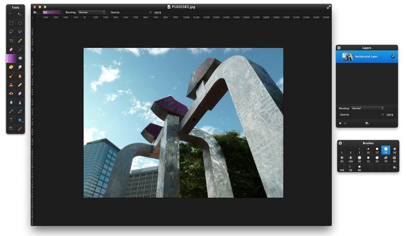 Logiciel montage photo simple mac